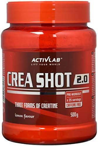 Activlab Crea Shot 2.0, Grapefruit, 500 g