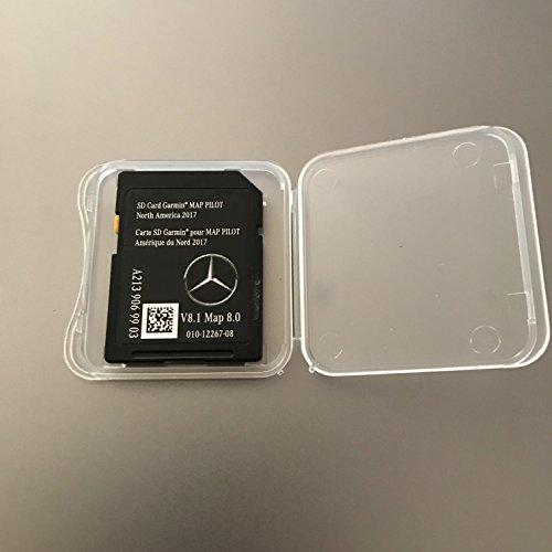 2017 2018 Mercedes-Benz GLC E & C-Class Map SD Card Garmin Navigation GPS Map Pilot 8.0 W205 AUDIO 20 OEM