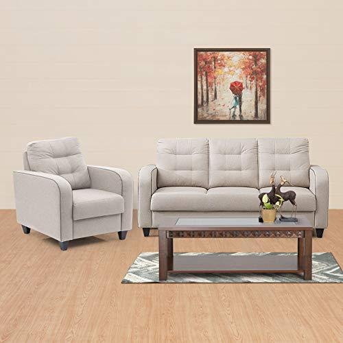 Home Centre Montoya Serene 3+1 Sofa Set   Beige