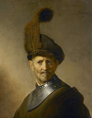 Rembrandt Van Rijn an Old Man in Military Costume El Paso Museum of Art 30