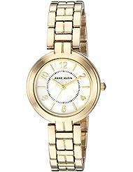 Anne Klein Womens AK/3070MPGB Gold-Tone Bracelet Watch