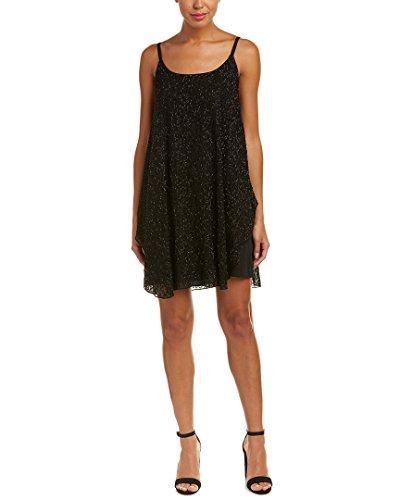 alice and olivia black cocktail dress - 5