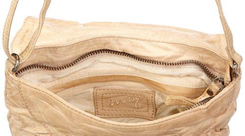 Maze Venezia MBA-21-Venezia - Bolsa al hombro de cuero para mujer Beige (Beige (shell 2035))