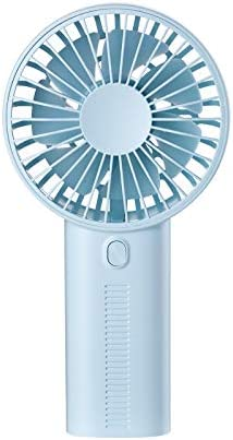 Blue Chercherr Mini Multifunction Fan 2019 New Personal Portable Desktop USB Rechargeable Energy Saving Quiet Sleep Fan With Detachable Phone Holder Base for Outdoor Home