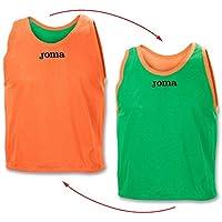 Joma Petos ENTRENO Reversible Lima-Naranja - Peto de Entrenamiento, Unisex, Naranja - (Naranja)