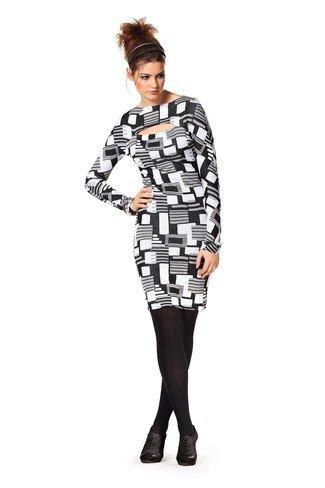 Burda 7312 Sewing Pattern, Misses Robe, Dress, Vestido, Size 6-
