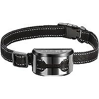JISKGH Pet Dog Rechargeable Anti Bark Collar Control Train Waterproof Stop Barking Dog Waterproof Ultrasonic Training…