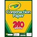 Crayola Construction Paper, Assorted Colors, 240 Sheet (99-3200) | Computers And Accessories