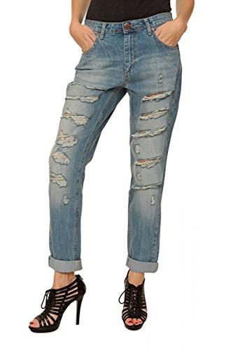 Fiveunits 5Units Boyfriend Jeans SELMA Celeste