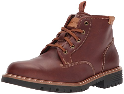 Cole Haan Men's Grantland WP Chukka Boot, Woodbury Wp, 10.5 Medium US (Premium Waterproof Chukka)