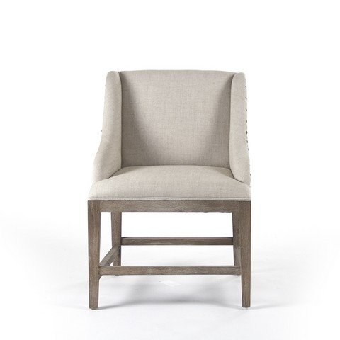 Zentique ZEN102 Connor Cafe Stool Linen/Cotton -