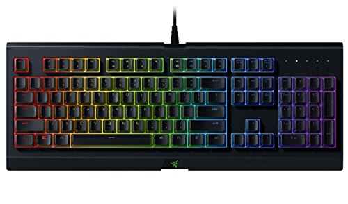 Razer Cynosa Chroma - Multi-color RGB Gaming keyboard - Individually Backlit Keys - Spill-Resistant Durable Design - RZ03-02260200-R3U1 (Certified Refurbished)