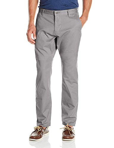 Dockers Men's Alpha Khaki Athletic Tapered Pant, Burma Grey (Stretch), 33W x 34L