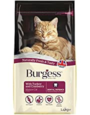 Burgess B69 Mature Cat Turkey and Cranberry Food, 1.4kg