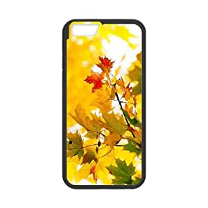 Maple Tree Branch iPhone 6 Plus 5.5 Inch Phone Case Black as a gift H6990131