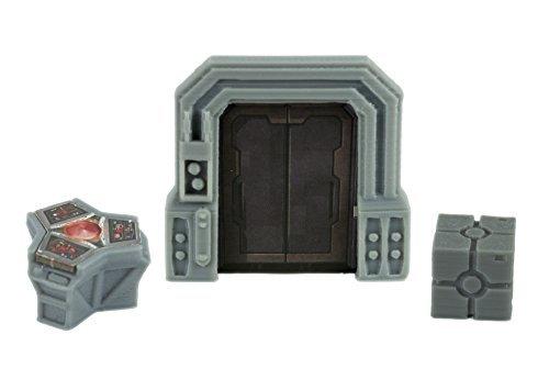 Star Wars Imperial Assault Custom Door, Terminal, &