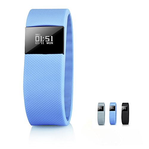 TW64 Smart Watch Blue - 4