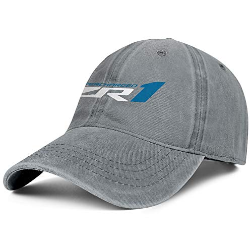 Mens Womens Chevrolet-Corvette-ZR1- Adjustable Retro Golf Hats Baseball Washed Dad Hat - Corvette Hat Chevrolet