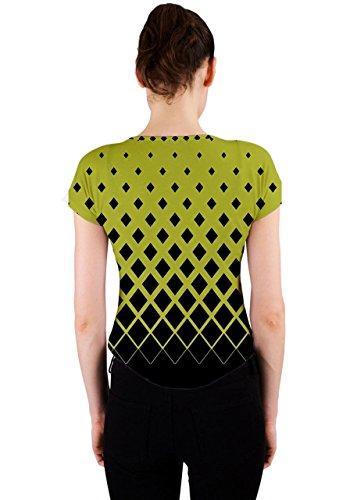 CowCow - Camiseta sin mangas - para mujer verde oliva