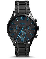 Fossil Fenmore Midsize Multifunction Black Stainless Steel Watch BQ2405