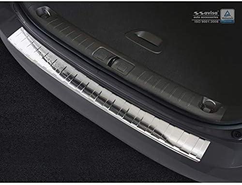 SEUILS POUR FIAT TIPO 356 Kombi Acier Inoxydable Chrome Mat Protection De Bord