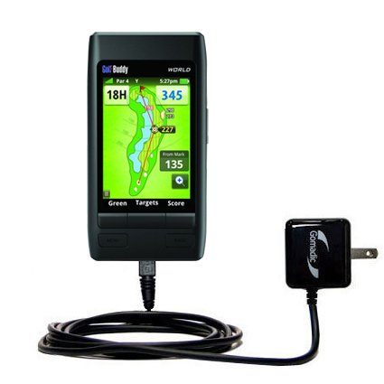 Advanced Rapid Wall AC Charger Compatible with Golf Buddy World - Amazingly powerful home charge design built with Gomadic Brand -
