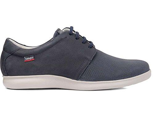 Zapato Callaghan De Piel Azul 91701 Azul