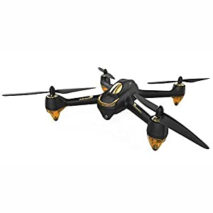 Hubsan H501S X4 4 Channel GPS Altitude Mode 5.8GHz Transmitter 6 Axis Gyro 1080P FPV Brushless Quadcopter Mode 2 RTF ( Black) by Hubsan