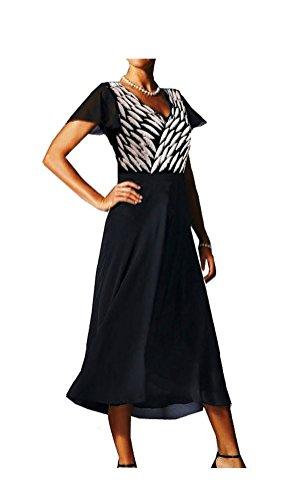 40 38 Gr Abend Gr 1112180547 Kleid Marken schwarz weiss Gr 36 I0xzOcgwq
