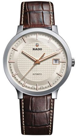 Rado-Centrix-Automatic-Silver-Dial-Brown-Leather-Mens-Watch-R30939125