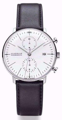 armbanduhr max bill chronoscope mit strichblatt wei armband schwarz a online kaufen g nstige. Black Bedroom Furniture Sets. Home Design Ideas