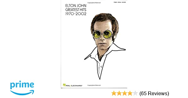 Greatest Hits Updated Easy Piano Elton John