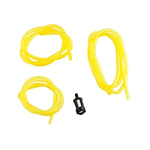2 Cycle Fuel Line Repair Kit for Chainsaws Snow Blowers Weedeaters and for All Makes and Models of 2 Cycle Equipment. Fits Poulan, Craftsman, Snapper, Homelite, Ryobi, and More