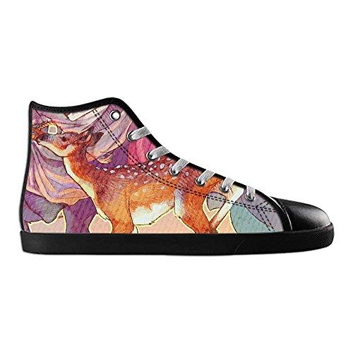 Dalliy Art Herten Vrouwen Canvas Schoenen Schoenen Schoenen Sneakers Schoenen Schoenen Een