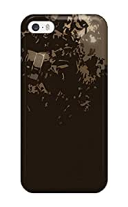 Hxy Snap On Hard Case Cover Gas Mask Protector For Iphone 5/5s