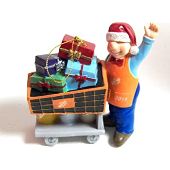 Amazon.com: The Home Depot Homer Christmas Ornament Cutting Down ...