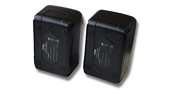 vhbw Set 2x baterías Li-Ion 4000mAh (28V) para herramientas ...