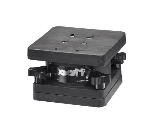 Scotty Swivel Pedestal Mount for All Scotty Downrigger Models, Outdoor Stuffs