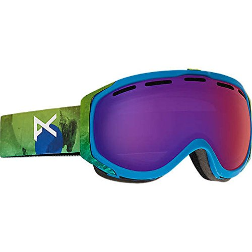 Anon Hawkeye Snow Goggles Tatonka with Blue Fusion Lens Anon Hawkeye Snow Goggles