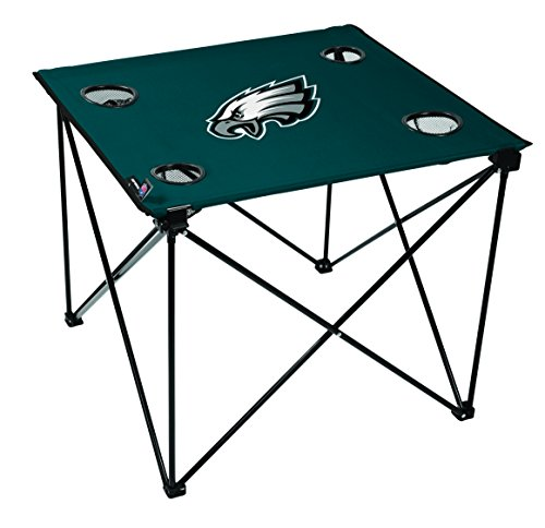 NFL Philadelphia Eagles Unisex NFL OS Phieag TLG8 Delux Tablenfl OS Phieag TLG8 Delux Table, Green, No Size