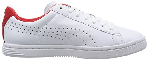 high Star Puma Adulte Mixte Riskrouge Court Baskets Blanc Crafted white Basses fzwAqPU6z
