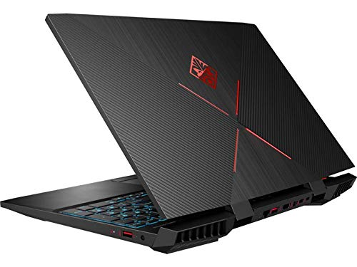 OMEN by HP 15-inch Gaming Laptop, 144Hz FHD IPS Display, Intel i7-8750H 2.2GHz, NVIDIA GeForce GTX 1060 6GB, 16GB RAM, 256GB SSD, 1TB SATA, Win10H, 15-dc0030ca (Renewed)