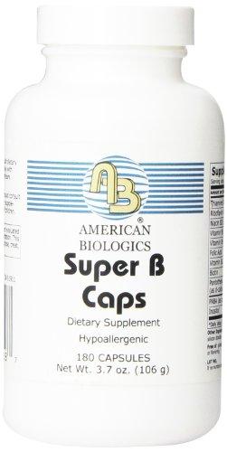 American Biologics Super B Capsules, 180 Count