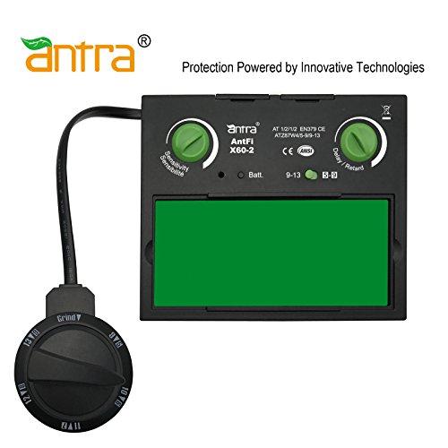 """Antra AntFiX60-2 Auto Darkening Welding Lens Filter 3.86"""" x"""