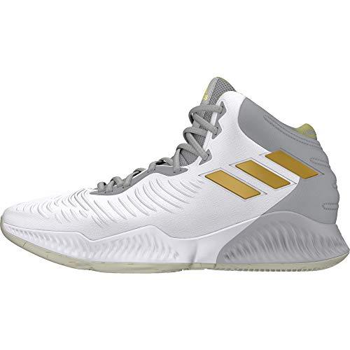Scarpe Adidas 2018 Bianco gretwo gold Uomo gold Bounce Mt Ftwwht Mad gretwo Mt Basket ftwwht Da rqxraE