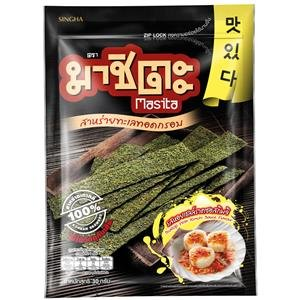 Masita Scallop With Kimchi Sauce Fried Seaweed 30g. 3pack carrier to shipping international usps, ups, fedex, dhl, 14-28 Day By Dragon Shopping Thank - Tracking International Usps