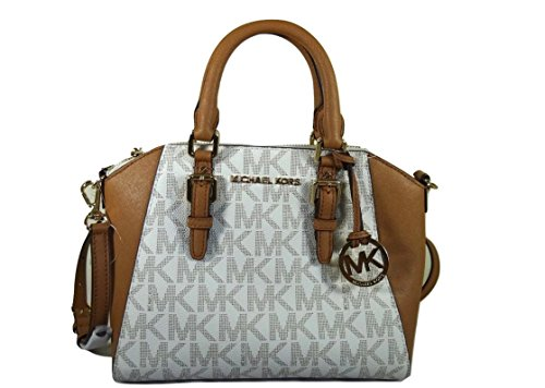252fc03c55ec Michael Kors Ciara Medium Messenger Bag (Vanilla   Acorn) - Buy Online in  Oman.