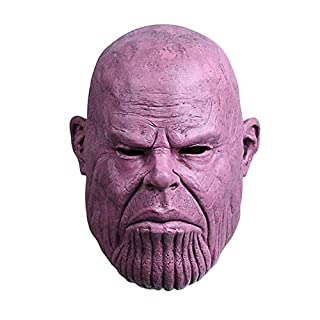 BengPro Infinity War Superhero Mask Latex Full Head Halloween Cosplay Props