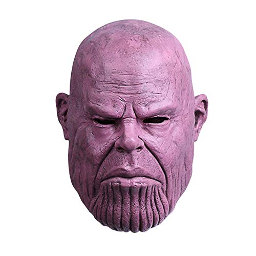 (FangjunxianST Infinity War Superhero Mask Latex Full Head Halloween Cosplay Props)