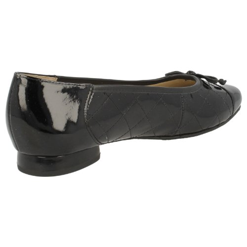 Ladies Shoes Fitting Wide patent Ballet black Terri Equity Style rwxXn6gqrH